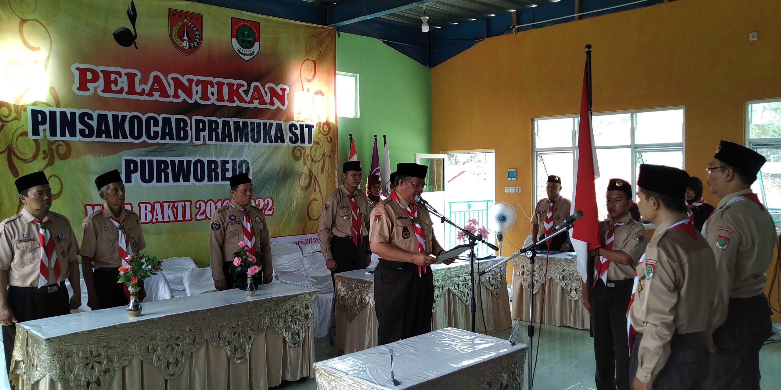 Pengukuhan Pengurus SAKO Pramuka SIT Purworejo