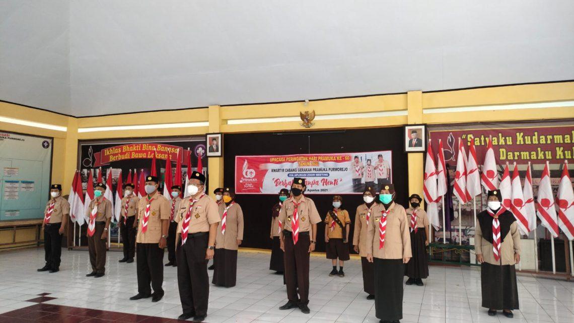 Sejumlah Pengurus Pramuka Purworejo Terima Penghargaan